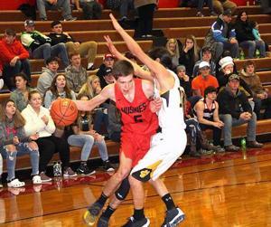 IHS boys Basketball - Cody Hunt
