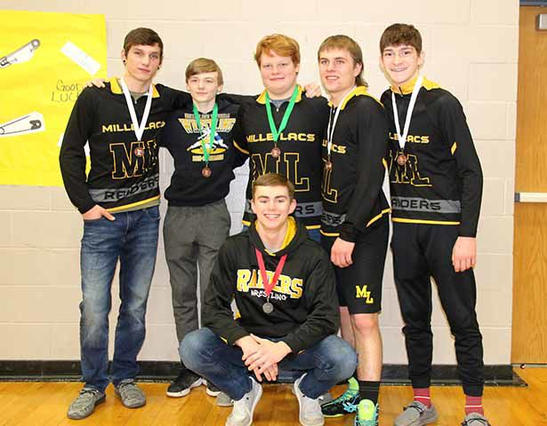 Top Raiders wrestlers