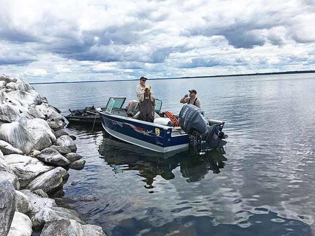 Mille Lacs Wildlife Refuge cleanup