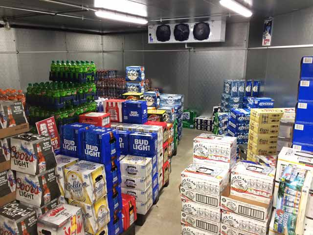 Morning Star Market beer cave