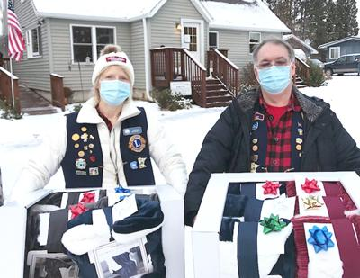 Isle Lions Club delivered Christmas gifts
