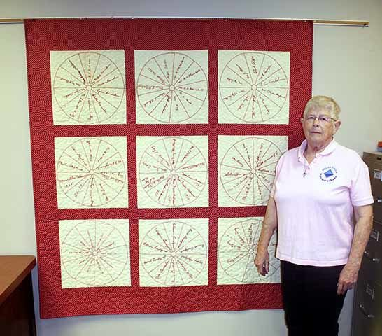 Theresa Berry - Redtop quilt