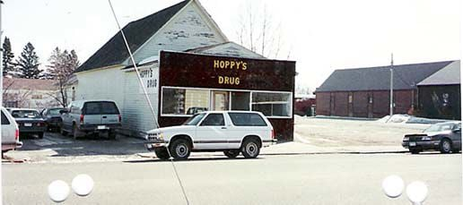 McGregor's Hoppy's Drug once housed the medical office of two Aitkin physicians.