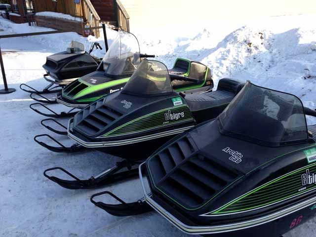 SNOWfest - Vintage snowmobiles