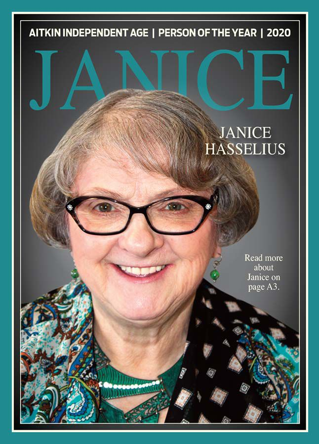 """Janice Hasselius Aitkin Independent Age's """"Person of the Year"""""""