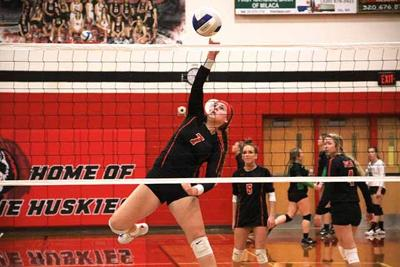 IHS volleyball - Tommi Spengler