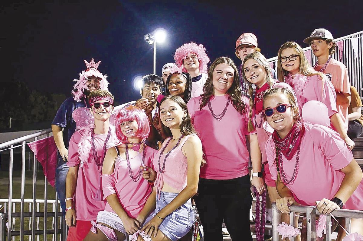 TIGERS GO PINK!