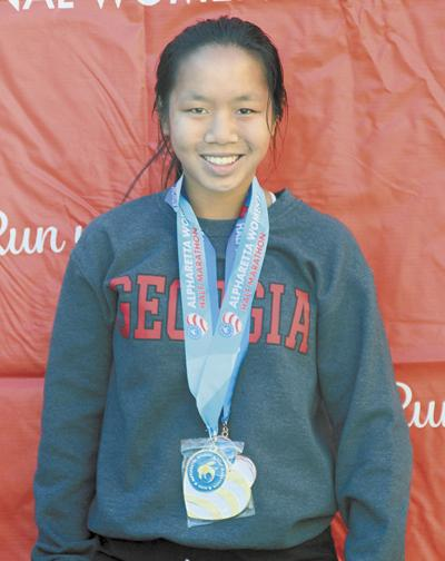 Metter runner picks up two medals in two weeks