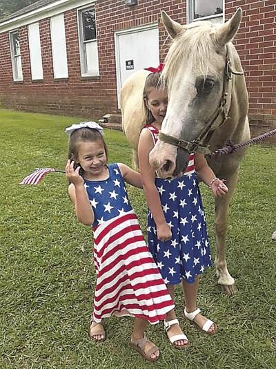 Horsing around on the Fourth