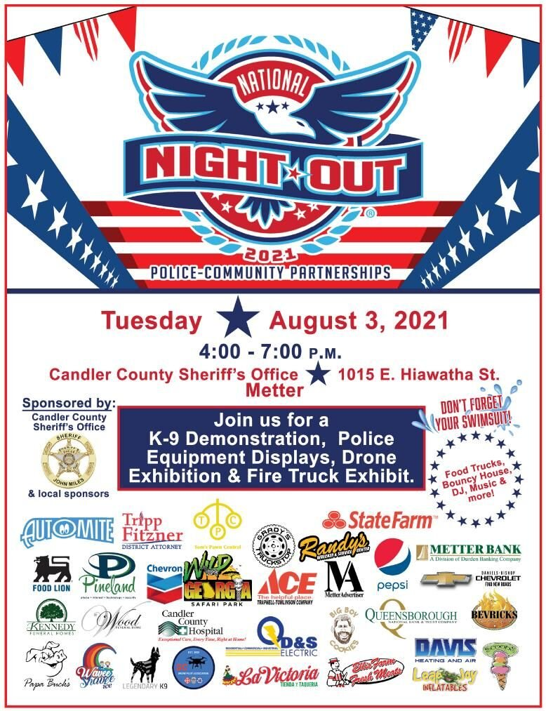 Sheriff's Office to host National Night Out