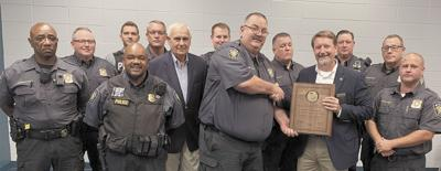 Metter PD receives  state certification