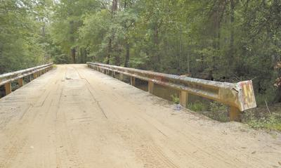 Property owner requests closure  of county's last wood bridge