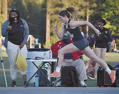 Thompson sets records in Track & Field Championship