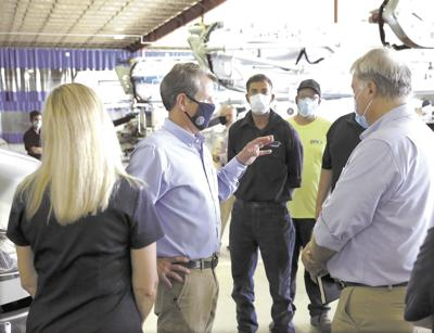 Governor and wife visit Metter, CPE America