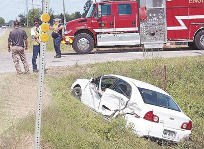 No injuries reported in two-car crash