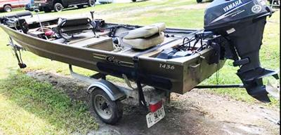 Boat reported stolen