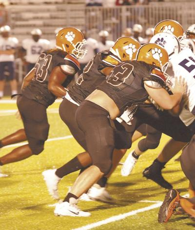 Tigers shut down Panthers, 56-0