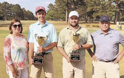 Kyle Moore, Jeb Stewart  win Bryan Phillips tourney $2K scholarship awarded