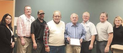 County honors retiring commissioner