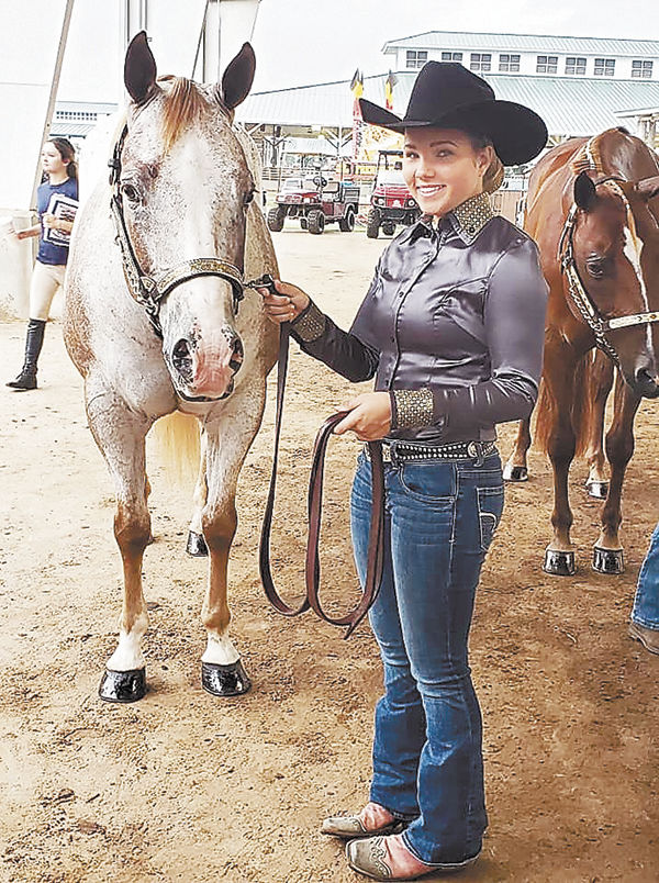 Griner's Win Big at State Horse Show