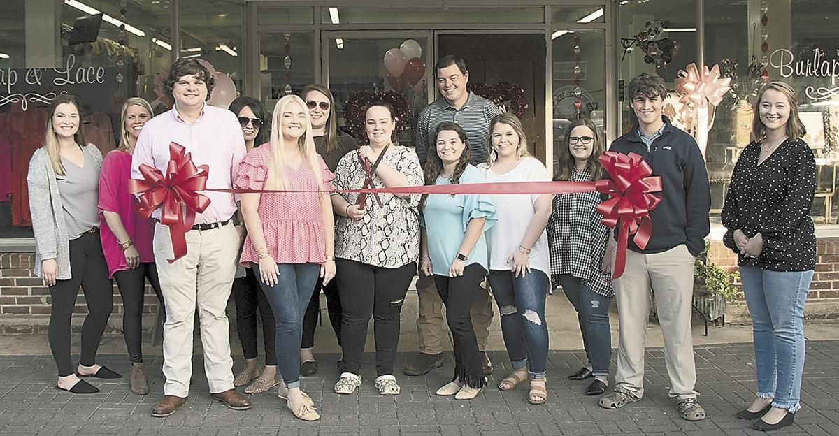 Ribbon cuttings are held during Thursday's Sweetheart Stroll