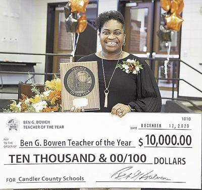Donaldson is Candler's Teacher of the Year