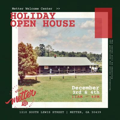 Everyone is invited to attend the Metter Welcome Center Holiday Open House