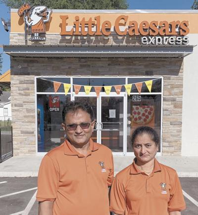 Little Caesars holds ribbon cutting