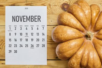 Mark your calendar for a busy November