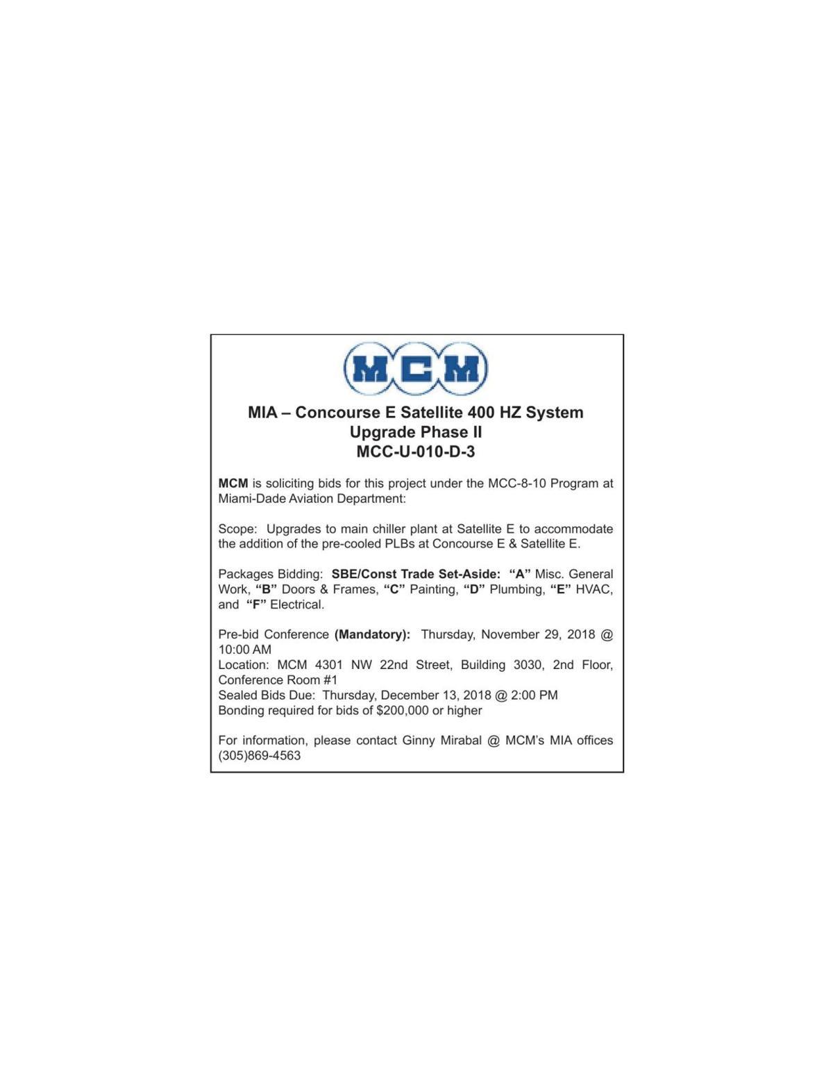 MCM | Legal Announcements | miamitimesonline com