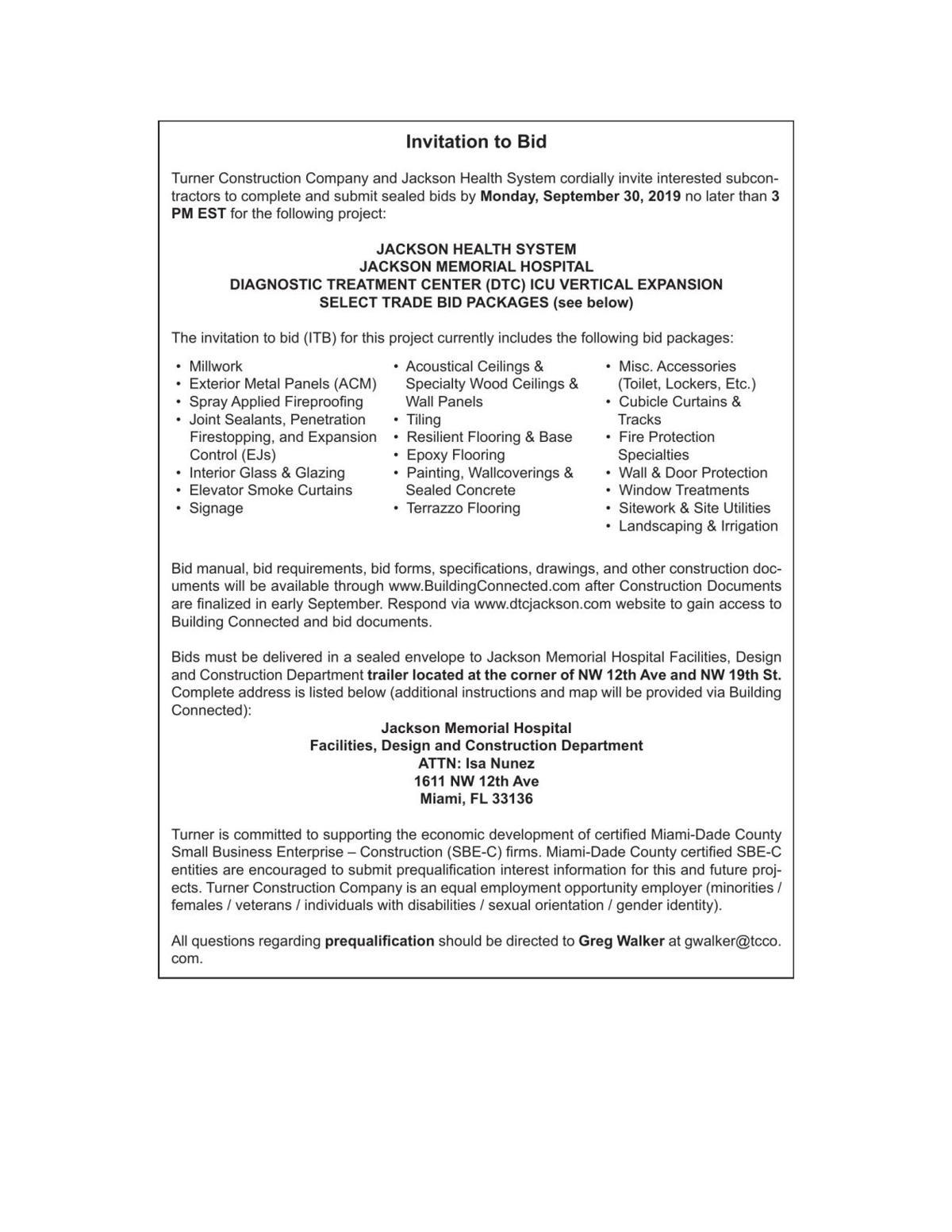 Legal Announcements Miamitimesonline