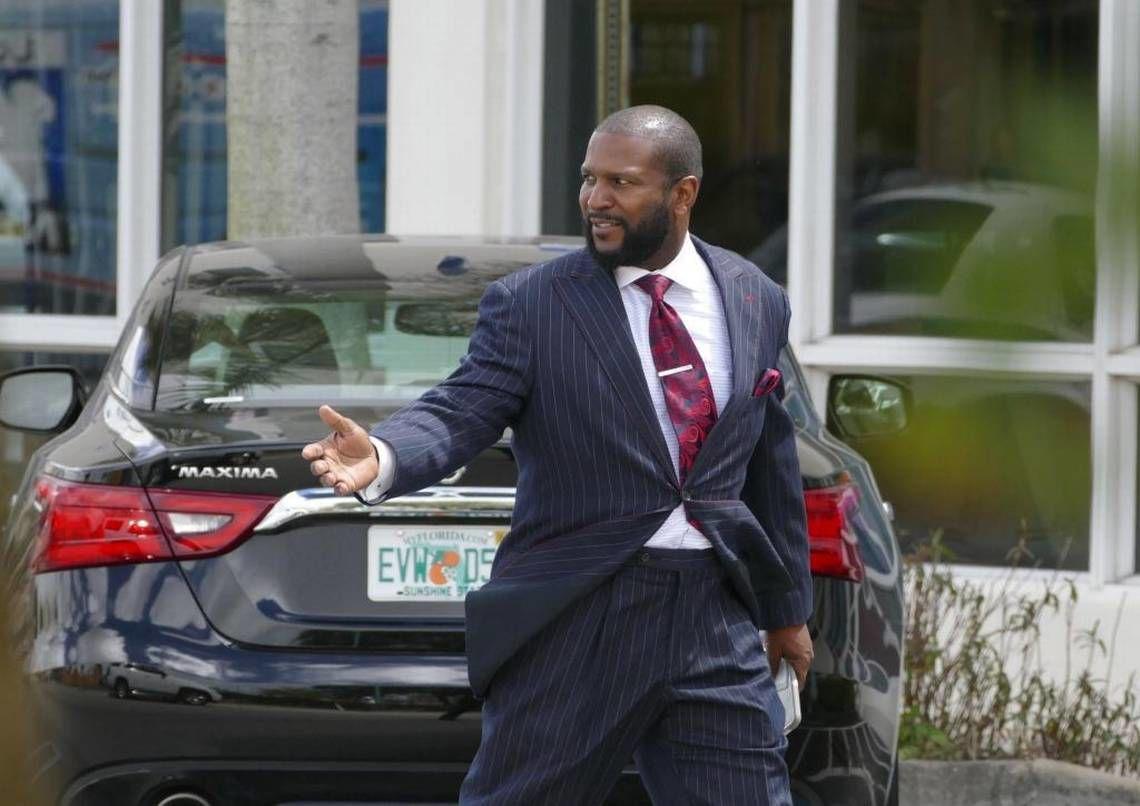 Opa-locka city attorney Vincent Brown