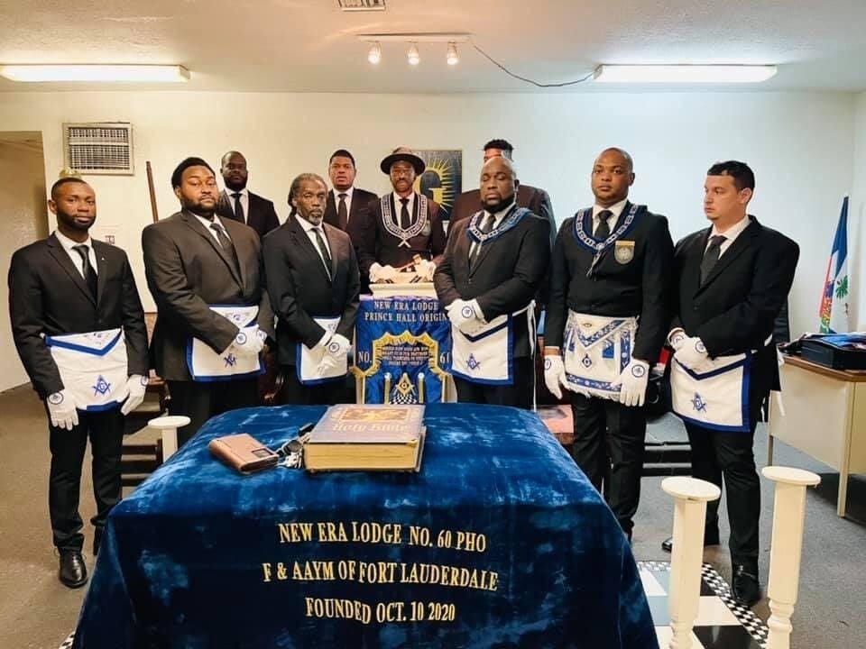 New Era Masonic Lodge members