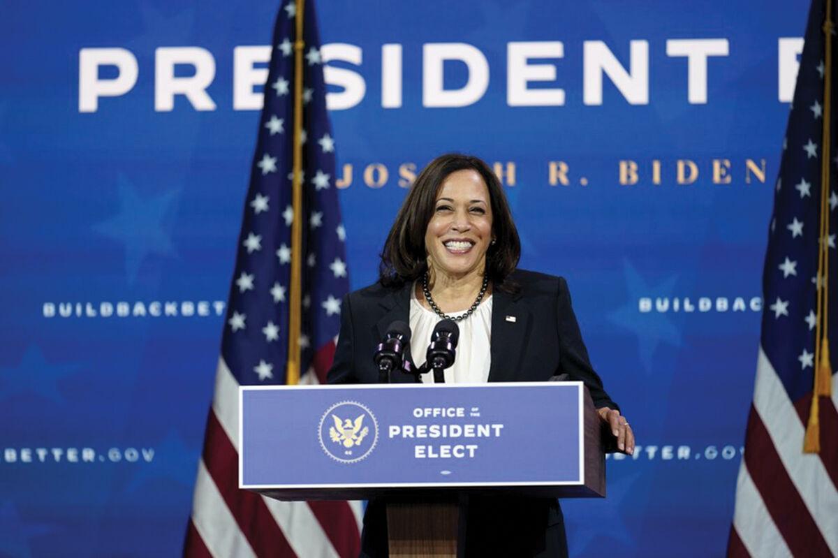 Vice President-elect Kamala Harris