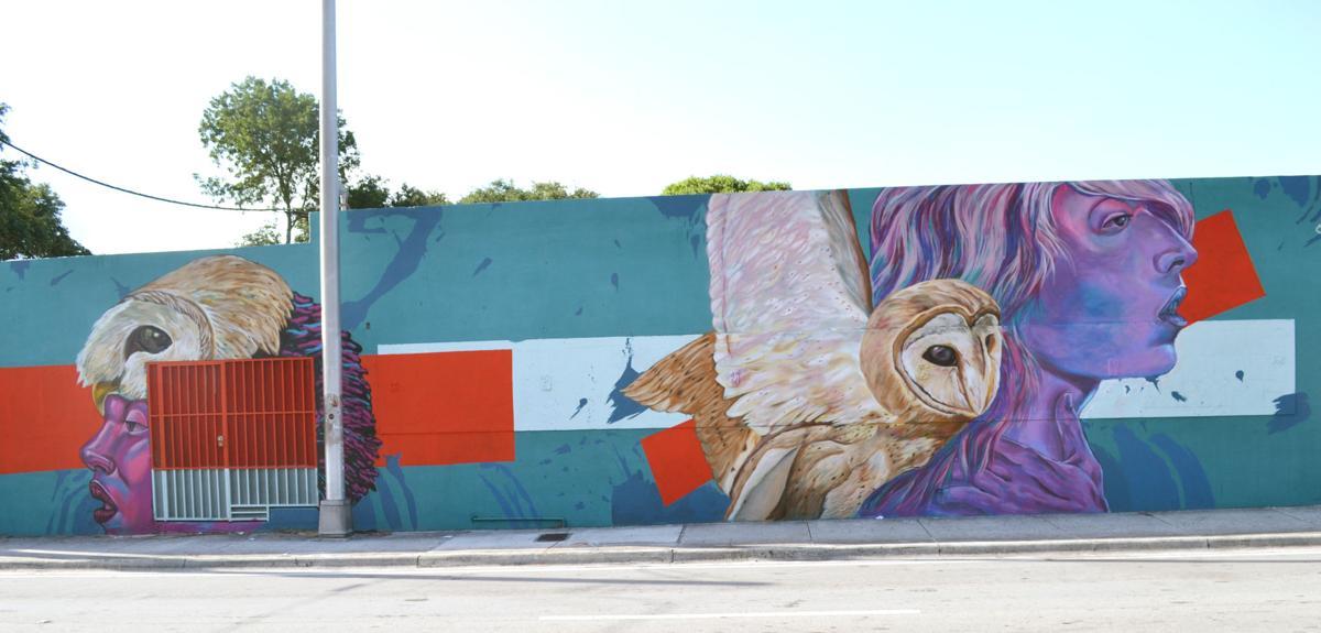"Nate ""Nate Dee"" Delinois mural"