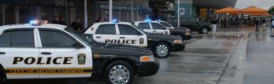 Miami Gardens Police cars