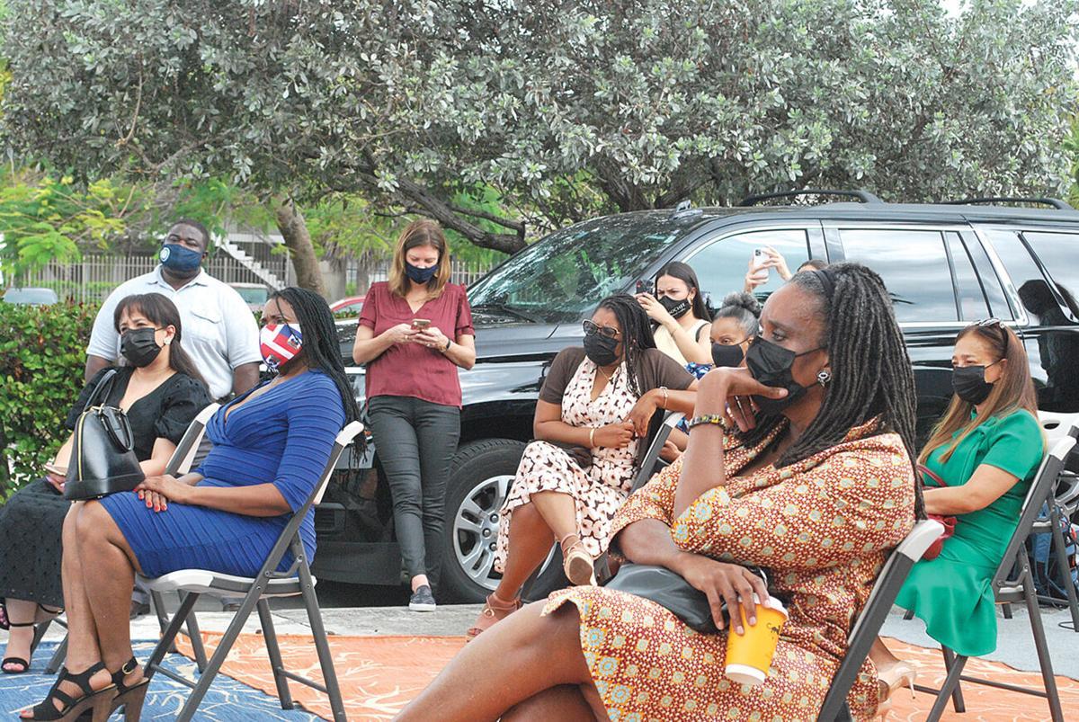 Haitian community stakeholders