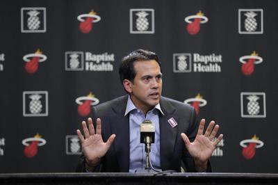 Miami Heat head coach Erik Spoelstra