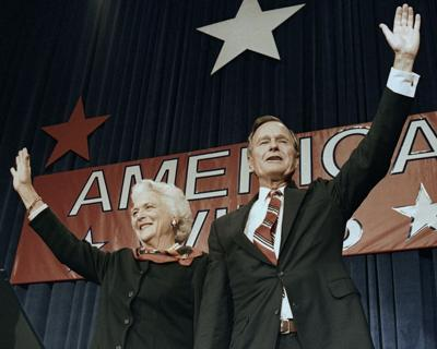 Barbara and George H.W. Bush