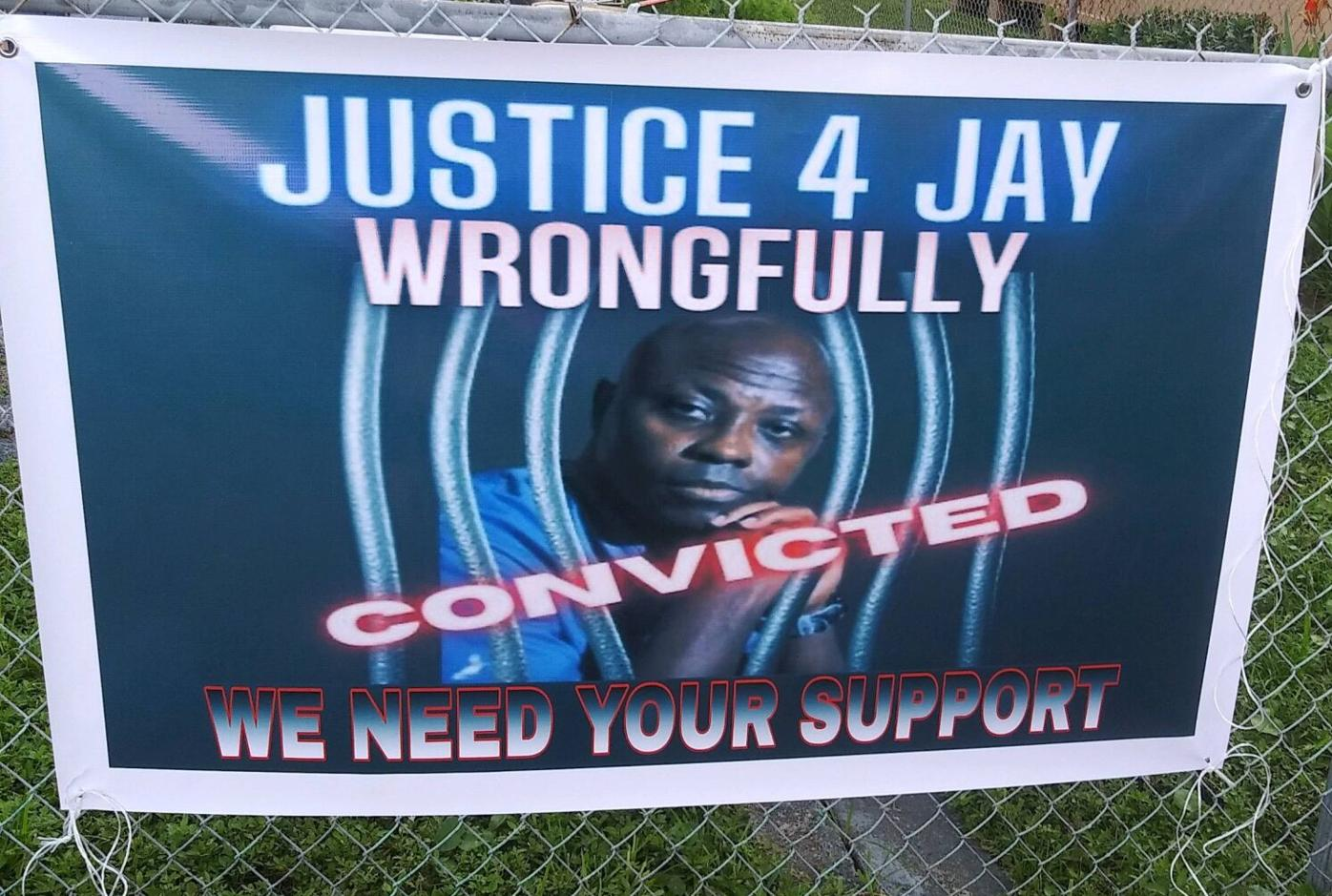 Justice for jay banner