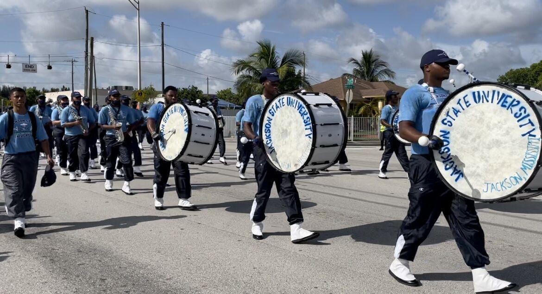 JSU marching band