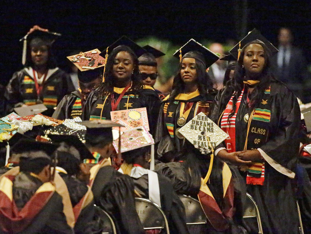 Bethune-Cookman grads turn their back to Betsy DeVos