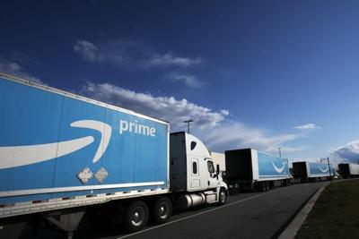 Amazon tractor trailers