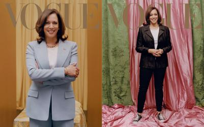 The Vogue cover with Kamala Harris