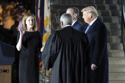 Constitutional Oath to Amy Coney Barrett