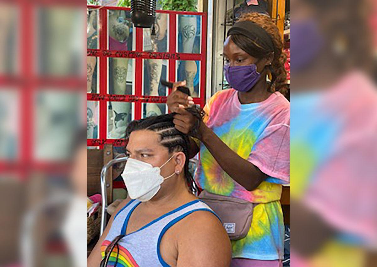 Bree Newsone at Porter Village in Key West
