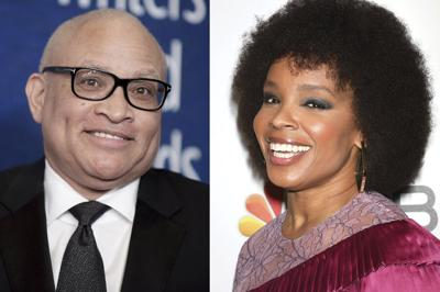 Larry Wilmore and Amber Ruffin