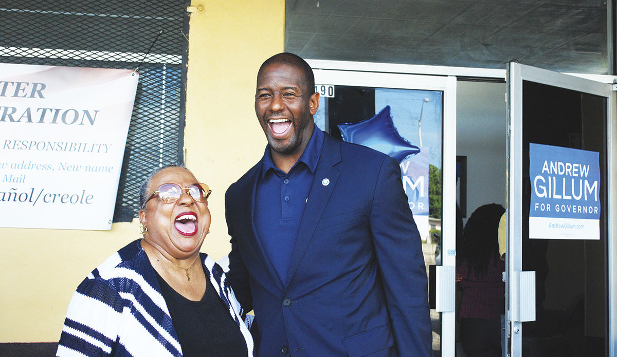 Gillum Brings It Home In Miami Gardens