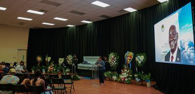 Alvin Burke Funeral