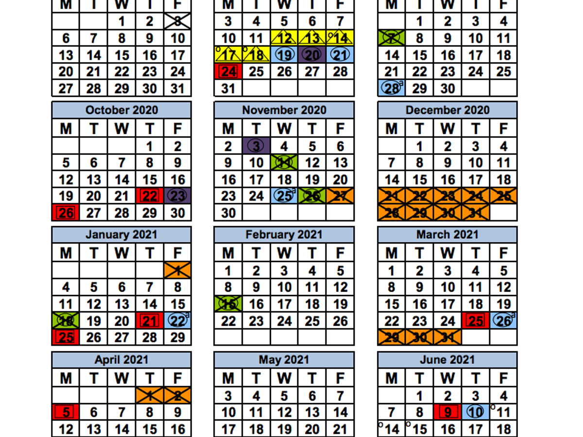 2021 Miami Dade School Calendar Miami Dade County School Board approves 2020 21 school calendars